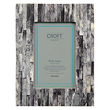 "Buy John Lewis Croft Collection Marble Photo Frame, Grey, 4 x 6"" (10 x 15cm) Online at johnlewis.com"