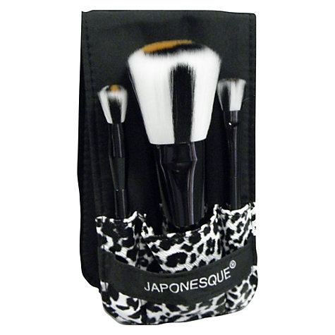Buy JAPONESQUE® Safari Chic Mini Brush Set Online at johnlewis.com