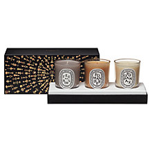 Buy Diptyque Christmas Candle Set, x 3 x 70g Online at johnlewis.com