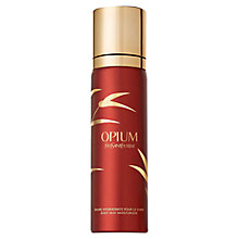 Buy Yves Saint Laurent Body Mist Moisturiser, 100ml Online at johnlewis.com