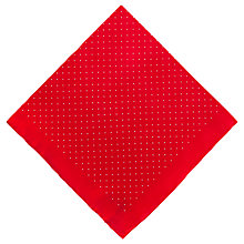 Buy Thomas Pink Polka Dot Pocket Square Online at johnlewis.com