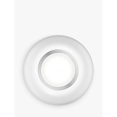John Lewis Lambda Circle Surface/Recessed LED Light Kit, Pack of 2, White