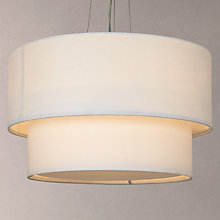 Buy John Lewis Samantha Layers Diffuser Pendant Ceiling Light Online at johnlewis.com