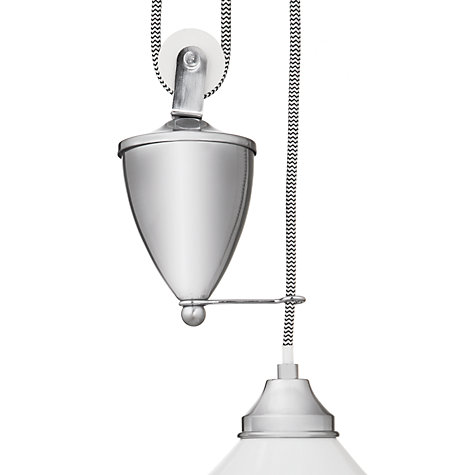 Buy John Lewis Croft Collection Selby Ceramic Rise and Fall Ceiling Pendant Online at johnlewis.com