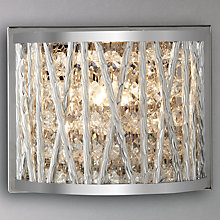 Buy John Lewis Emilia Crystal Drum Wall Light Online at johnlewis.com
