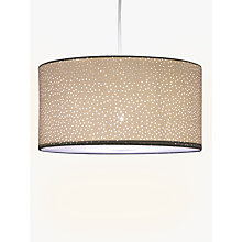 Buy John Lewis Easy-to-fit Alice Starry Sky Shade, White Online at johnlewis.com