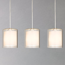 Buy House by John Lewis Wayward Triple Bar Pendant Online at johnlewis.com