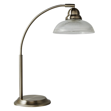 Buy John Lewis George Table Lamp, Satin Nickel Online at johnlewis.com