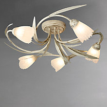Buy John Lewis Larissa Semi-flush Ceiling Light, 5 Arm Online at johnlewis.com