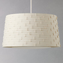 Buy John Lewis Easy-to-fit Miranda Ruffle Ceiling Shade Online at johnlewis.com