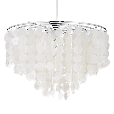 Buy John Lewis Easy-to-fit Amiens Capiz Ceiling Shade Online at johnlewis.com
