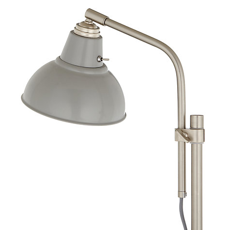 Buy John Lewis Croft Collection Campbell Table Lamp, Grey Online at johnlewis.com