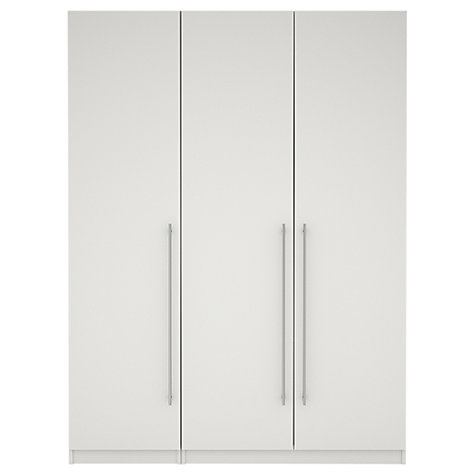 Buy House by John Lewis Mix it T-bar Bedroom Range, Gloss White Online at johnlewis.com
