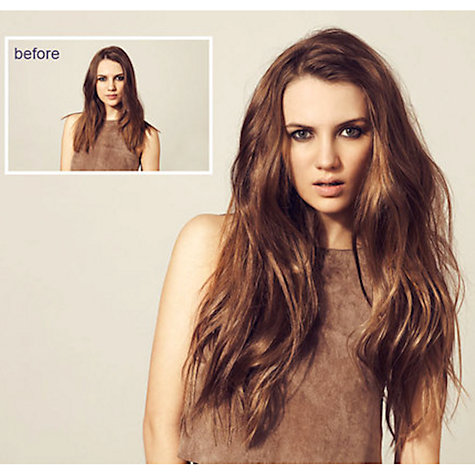 Buy Daniel Hersheson 100% Human Hair 10 Piece Clip-In Set Online at johnlewis.com