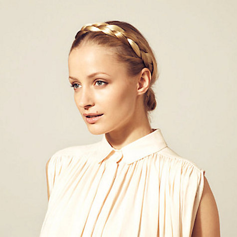 Buy Hershesons Chunky Braided Headband Online at johnlewis.com