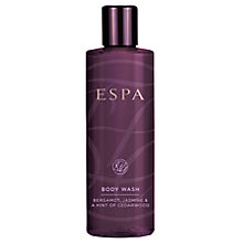 Buy ESPA Bergamot, Jasmine & Hint of Cedarwood Body Wash, 250ml Online at johnlewis.com