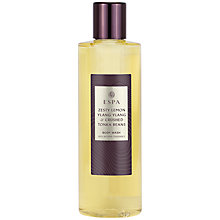 Buy ESPA Zesty Lemon, Ylang Ylang & Crushed Tonka Beans Body Wash, 250ml Online at johnlewis.com