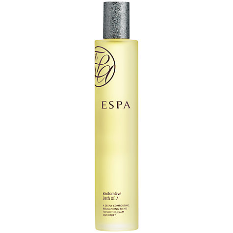 Buy ESPA Restorative Bath Oil, 100ml Online at johnlewis.com