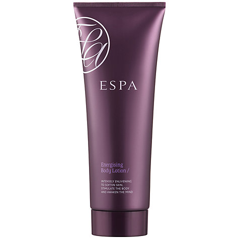 Buy ESPA Energising Body Lotion, 200ml Online at johnlewis.com
