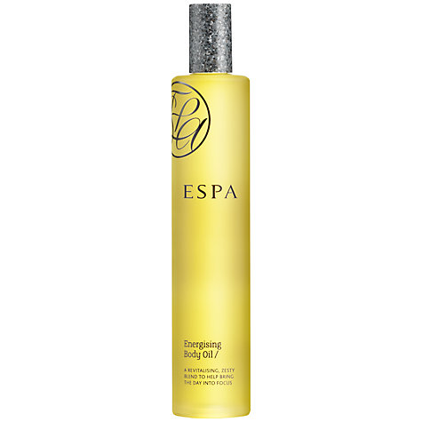 Buy ESPA Energising Body Oil, 100ml Online at johnlewis.com