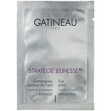Buy Gatineau Collagen Eye Compresses, Pack of six double sachets Online at johnlewis.com
