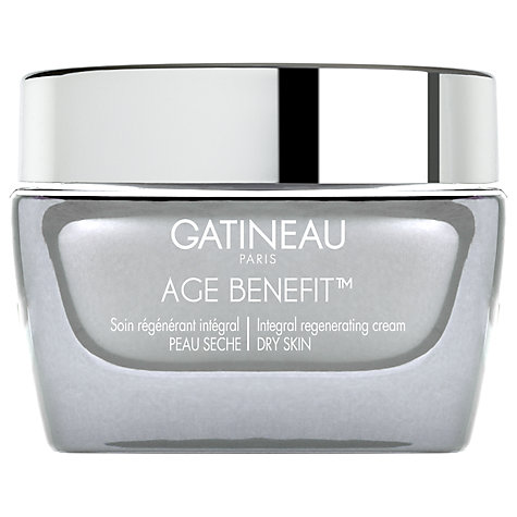 Buy Gatineau Age Benefit Regenerating Dry Skin Cream, 50ml Online at johnlewis.com