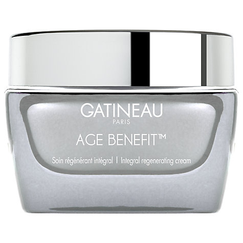 Buy Gatineau Age Benefit Regenerating Cream, 50ml Online at johnlewis.com