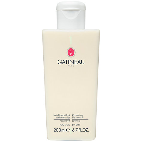 Buy Gatineau Comforting Lily Cleanser, 200ml Online at johnlewis.com