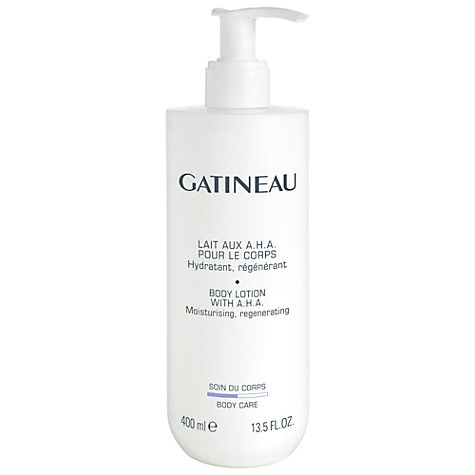 Buy Gatineau A.H.A. Moisturising Body Lotion, 400ml Online at johnlewis.com