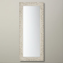 Buy John Lewis Loire Mirror, Cream, H58cm x W138cm Online at johnlewis.com