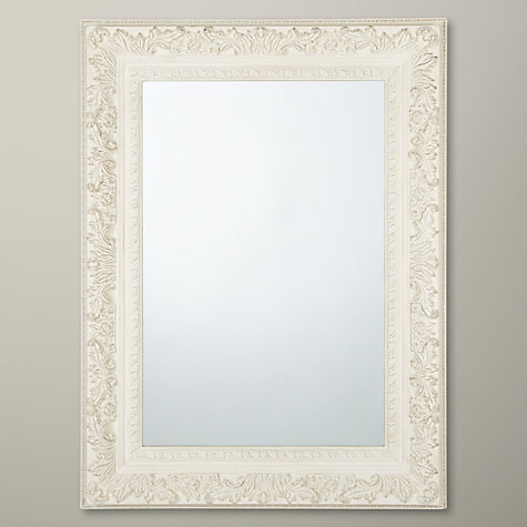 Buy John Lewis Loire Mirror, Cream, H90 x W120cm Online at johnlewis.com