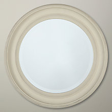 Buy John Lewis Porthole Mirror, White, Dia.39.5cm Online at johnlewis.com