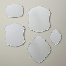 Buy Gallery Direct Santiago Scatter Mirrors, Set Of 5 Online at johnlewis.com