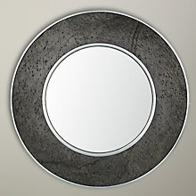 Buy John Lewis Croft Collection Round Mirror, Dia. 60cm, Grey Online at johnlewis.com