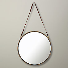 Buy John Lewis Round Hanging Mirror, Dia.30cm Online at johnlewis.com