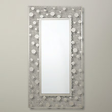Buy John Lewis Circles Border Mirror, Silver, Dia. 65cm Online at johnlewis.com