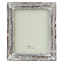 Buy Nkuku Jasailmer Wooden Mirror, 34 x 29cm Online at johnlewis.com