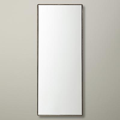 John Lewis Rectangle Iron Mirror, H30 x W76cm
