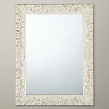 Buy John Lewis Loire Mirror, Cream, H68 x W88cm Online at johnlewis.com