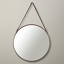 Buy John Lewis Round Hanging Mirror, Dia. 50cm Online at johnlewis.com