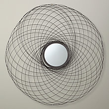 Buy John Lewis Spiro Mirror, Bronze, Dia.86cm Online at johnlewis.com