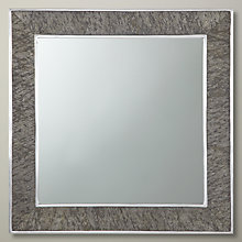 Buy John Lewis Croft Collection Slate Square Mirror Online at johnlewis.com