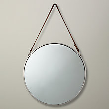 Buy John Lewis Round Hanging Mirror, Dia.38cm Online at johnlewis.com