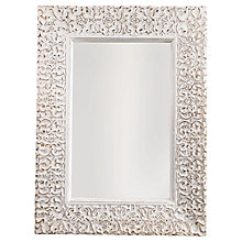 Buy Nkuku Aster Carved Mirror, 84 x 62cm Online at johnlewis.com