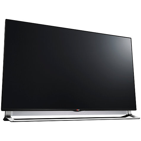"Buy LG 65LA970W LED 4K Ultra HD 3D Smart TV, 65"" with Freeview HD, 4x 3D Glasses and 2x Dual Play Glasses Online at johnlewis.com"