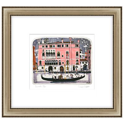 Graham Clarke – Serenata Limited Edition Hand-Coloured Etching, Framed, 47 x 51cm