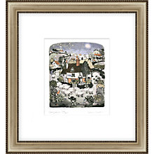 Buy Graham Clarke - Sheepdogs Limited Edition Hand-coloured Framed Etching, 49.5 x 46.5cm Online at johnlewis.com