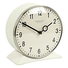 Buy Thomas Kent Farlow Wall And Mantel Clock, White Online at johnlewis.com