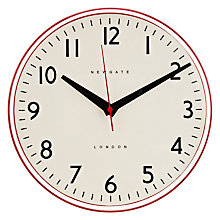 Buy Newgate Pill Wall Clock, Red Online at johnlewis.com