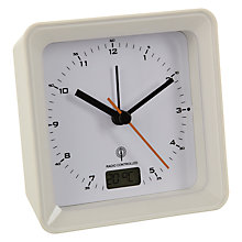 Buy Acctim Radio Controlled Square Alarm Clock Online at johnlewis.com